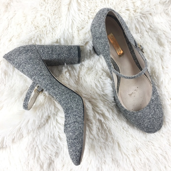 4f790ca31af7 Louise Et Cie Shoes - Louise Et Cie Jayde Mary Jane Block Heel Pump Gray